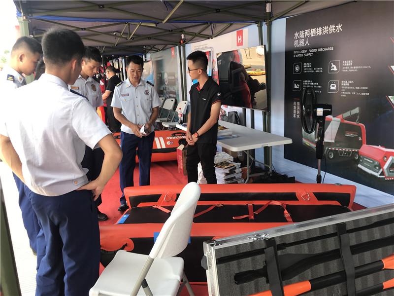 大显身手!寰易亮相广西消防救援总队水域救援装备展示测试活动