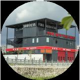 模块化移动消防站